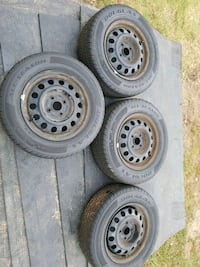 Slightly used tire set 185/65R14 Troutman, 28166
