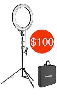 "18"" PHOTOGRAPHY RING LIGHT"