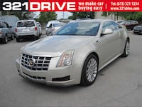Cadillac CTS Coupe 2013