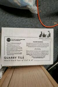 6x6 terracotta ceramic tile, 3 boxes Linthicum Heights, 21090