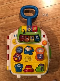 white, blue, and green Vtech learning toy Montreal, H1R 1R3