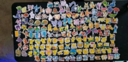 2/$1 Pokemon Restickable Stickers in Plano