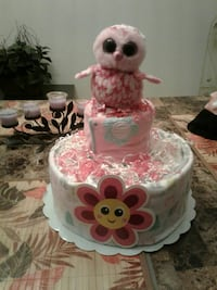 MINI Owl Diaper Cake  OTHER THEMES AVAILABLE