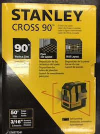 cross line laser leveler new in SEALED BOX