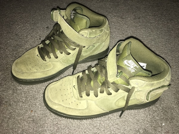 Green Air Force Ones