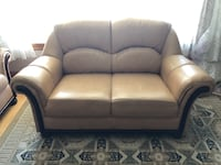 Leather Couch & Love Seat