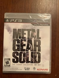 Metal Gear Solid Legacy Collection - PS3 Toronto, M4J 4C7