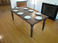 Large Rosewood Dining Table - Excellent Condition Portland