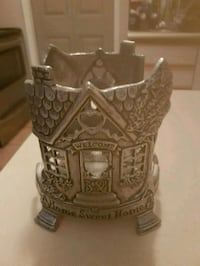 Jome sweet home pewter candle holder Whitby, L1N 8X2