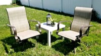 white and brown wooden table with chairs Land O' Lakes, 34637