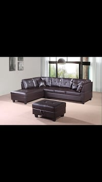 •••••Boxing Day Alex Sectional Sofa With Ottoman Sale•••• Mississauga