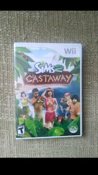 The Sims2 castway wii game  Bakersfield, 93306