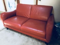 red leather 2-seat sofa Jacksonville, 32211