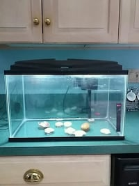black framed clear glass fish tank Germantown, 20874