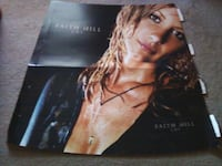 VINTAGE FAITH HILL PROMOTIONAL POSTER - $20 OBO Voorhees Township