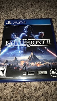 Star wars battlefront ps4 game case null, 25414