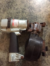 black and gray air impact wrench 158 mi