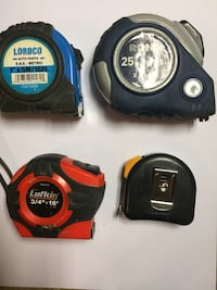 Tape measures Rona lordco ect Burnaby, V5A 4W3