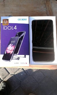 smartphone nero Alcatel Idol 4 6806 km