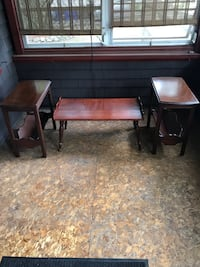 Coffee table and 2 end tables Waltham, 02451