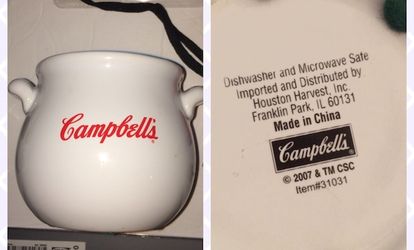 Campbell's Soup Bowl - Great condition!