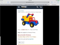 Dump truck toy screenshot Laval, H7T 0B5