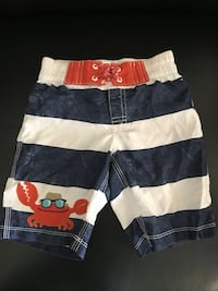 Crazy 8 boys swimming trunks - size 3  Brownsville, 78526
