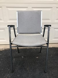 Mill Brook Gray And Silver Stackable Office/Indoor Chairs 10 Available $10 Each Manassas, 20112