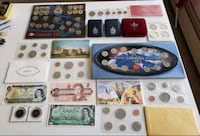 Lot 1910s-1990s Canadian Sets,Bills, Tokens& Coins