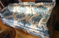 Vintage Glam Boho Sofa - Great Condition!