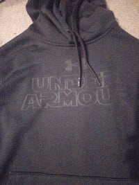 black Under Armour pull over hoodie Vancouver, V6R 2B3
