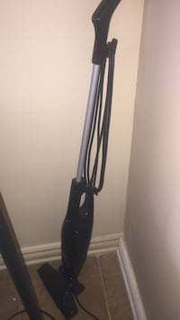 black and gray upright vacuum cleaner Ottawa, K1J 7T4