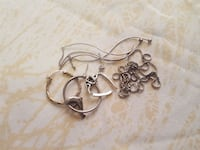 Sterling silver broken pieces