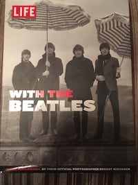 Large Hardcover Book about the Beatles