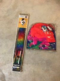 "2 quality nylon fabric stunt kites. New.30"" wide. Third one is used. All three kites for $5. Londonderry, 03053"