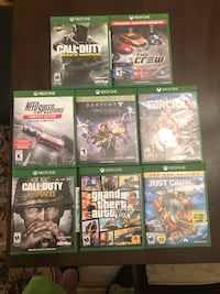 Assorted xbox one games Ingram, 15205
