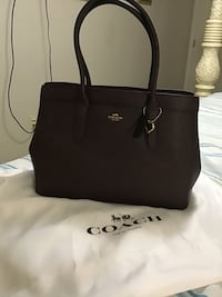 black Coach leather tote bag Slidell, 70458