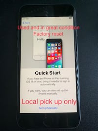iPhone 6s 32GB Space Gray, Sprint, Used, Great Condition, Local pick up Foster City, 94404