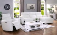 HOT¡¡ 2 PC White Power Sectional • $39 Down Paymen North Las Vegas, 89081