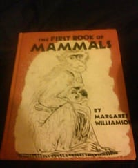 1957 the first book of mammals by margeret willams Chicago, 60626