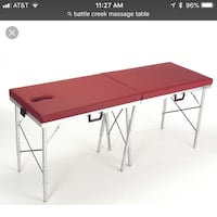 BATTLE CREEK Portable Massage table Kirkwood, 63122