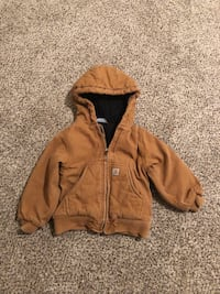 brown zip-up hoodie Brunswick, 21716