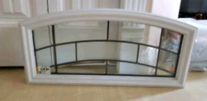 decorative glass insert