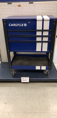 blue and black metal tool chest Dallas, 75207