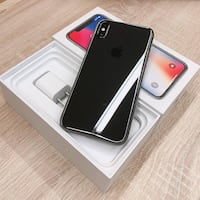 iPhone X grey unlocked 64gb with box Kitchener, N2M