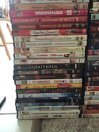 assorted-title DVD case lot 3164 km