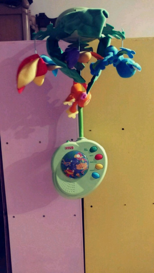 Fisher Price Swing Away Mobile Jungle Mobile