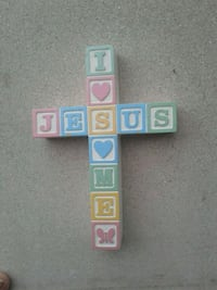 I Love Jesus cross with block letter Cape Coral, 33991