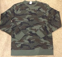 Camouflage long-sleeved shirt ( brand new )