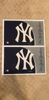 yankees placemats 50 km